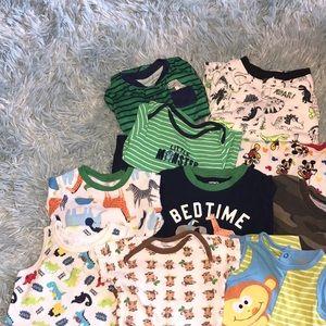 12month Sleepwear & Play-wear bundle